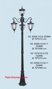 Lampu Hias Taman Model Tangan GC 4056 A1/3 DOWN