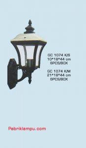 Jual lampu dinding model tempel murah GC 1074 K/S