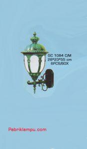 Jual lampu dinding model tempel murah cocok untuk rumah , teras dll GC 1084 CperM