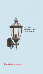 Jual lampu hias dinding model tempel GC 1107 C